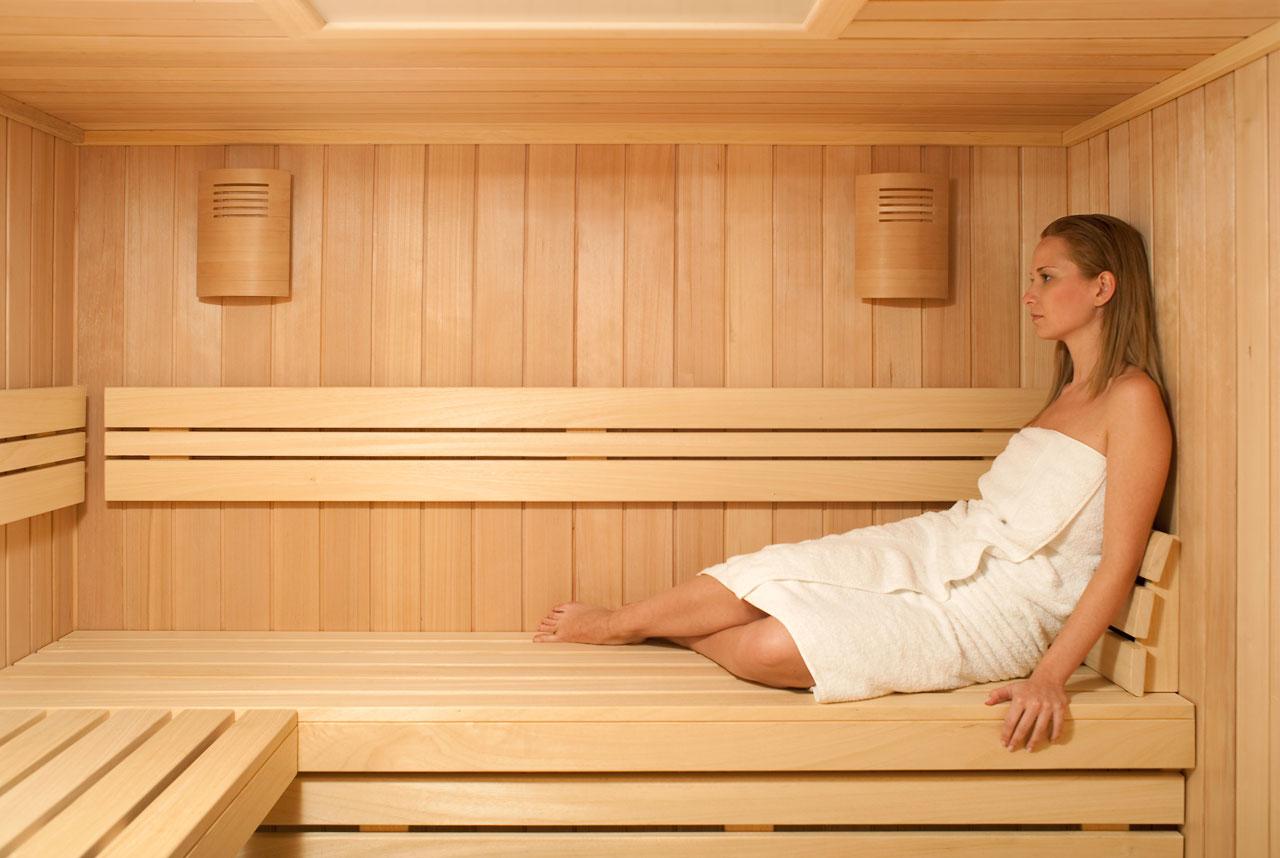 Cuore e sauna