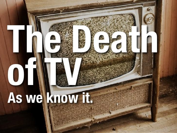 il televisore sta morendo